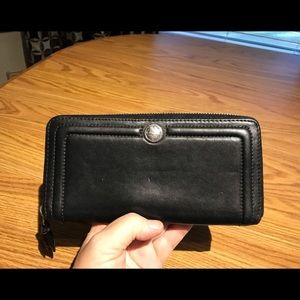 Coach Zip-Around Organizer Wallet